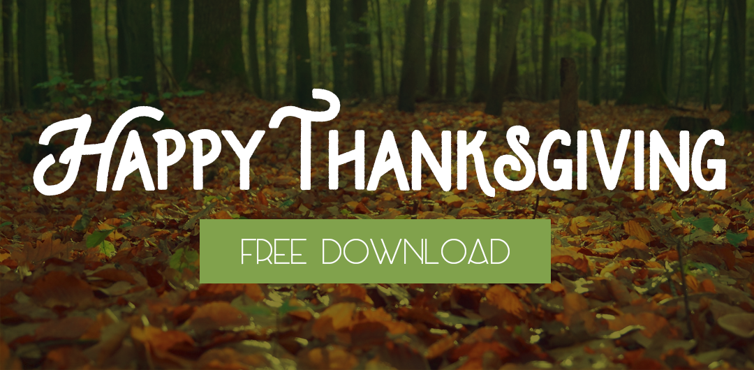 Freebie: Thanksgiving Social Media